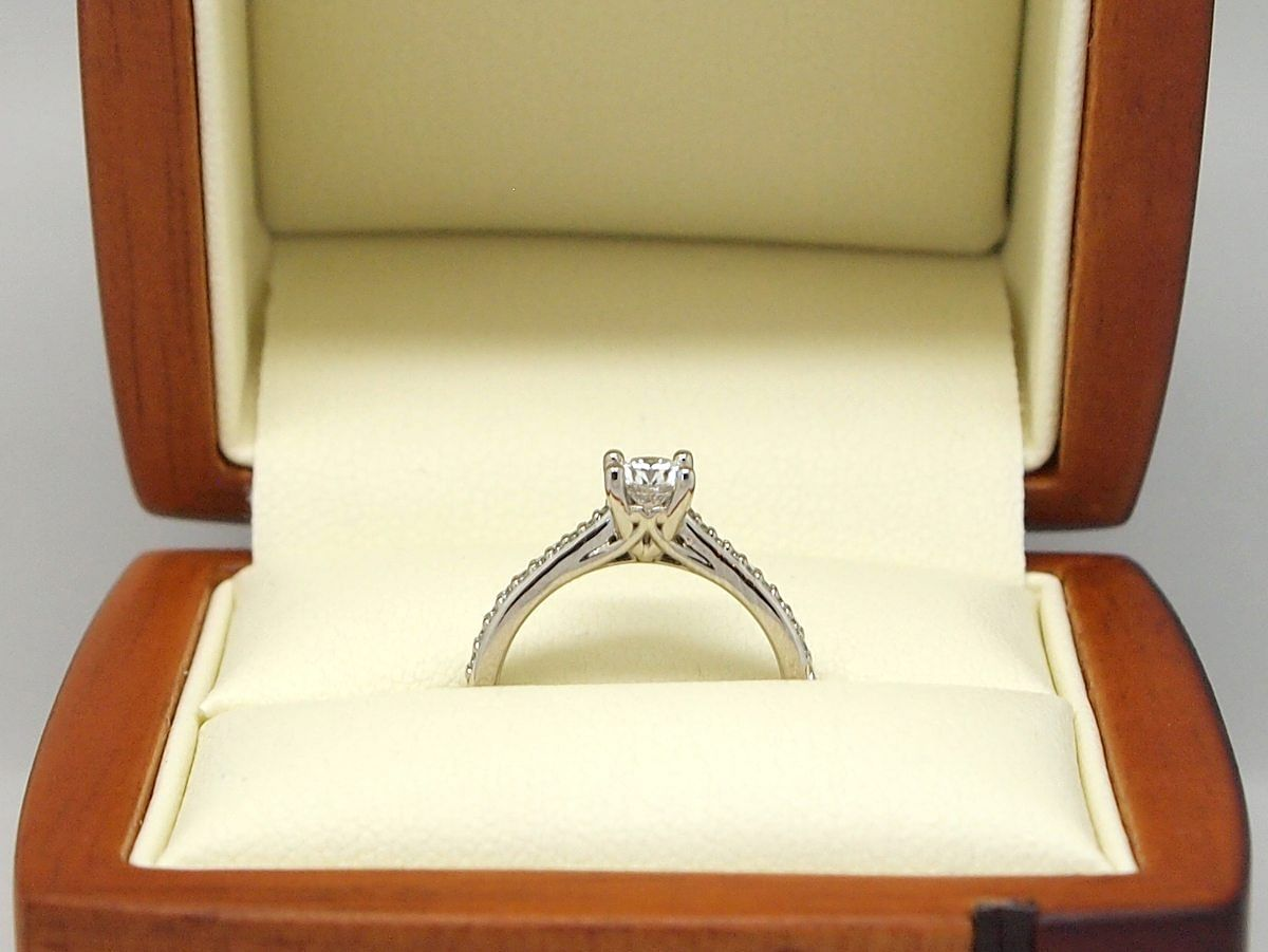 Custom Diamond Solitaire ring