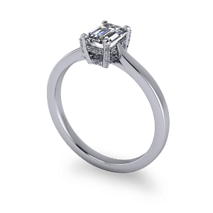 Decorative diamond setting