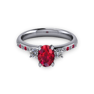 Diamond and ruby trilogy