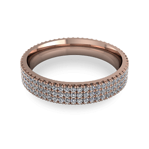 Beautiful pave band