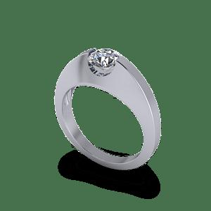 suspension set diamond ring