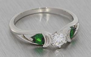 Wiccan Trilogy Engagement Ring - Portfolio