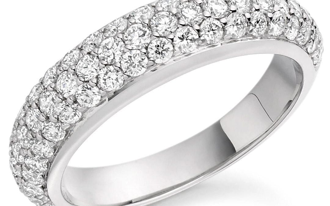 Pave Engagement Ring Styles