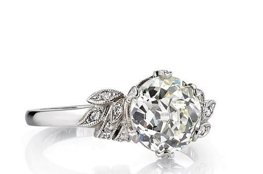 Vintage and antique engagement ring series – Victorian styles