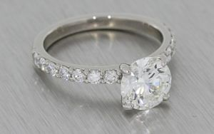 Beautiful Crafted By Infinity Diamond Engagement Ring