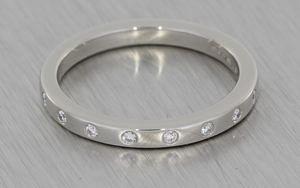 Flush Set Diamond Wedding Ring