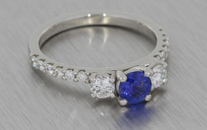 Beautiful Sapphire and Diamond Trilogy
