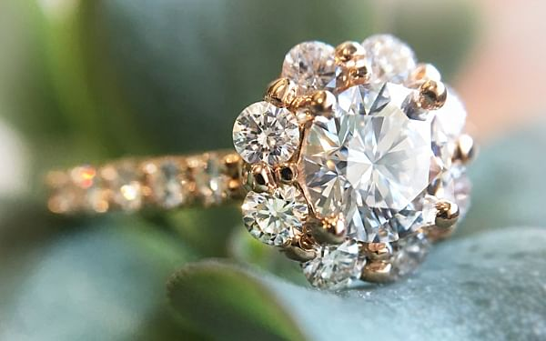 custom engagement rings from Durham Rose
